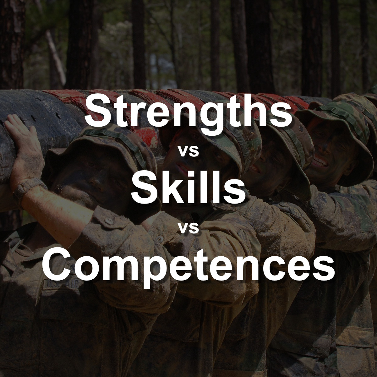 strengths vs skills vs competences and how to nail them in your cv