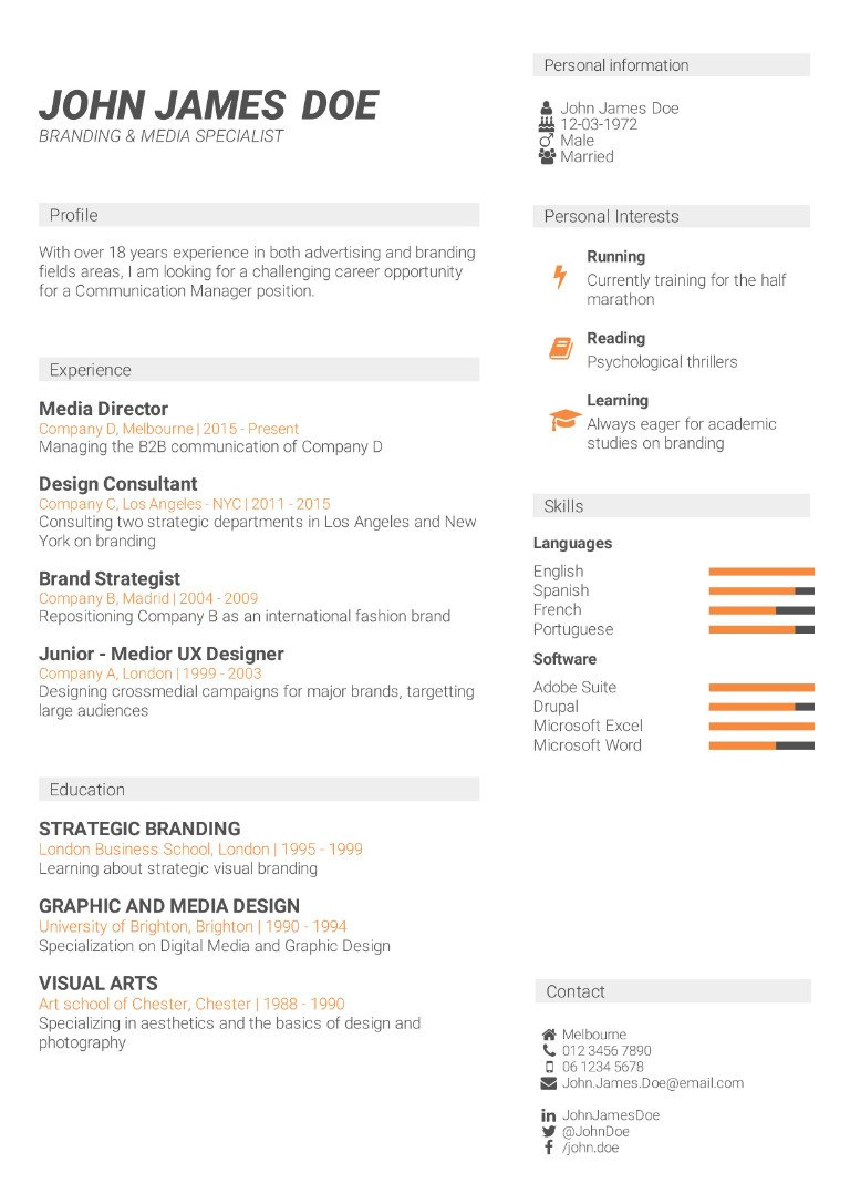 Cv template powerful online cv builder irresistible cv templates some powerful features yelopaper Image collections