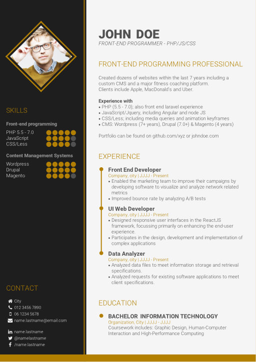 the advantages of an online cv builder